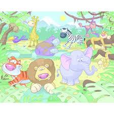 Safari Wall Murals Baby Safari Wallpaper Wallpapersafari