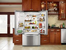 kitchen awesome kitchen refrigerator cabinet ideas with double