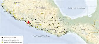 map of mexico and california needs mexico s seismic warning system