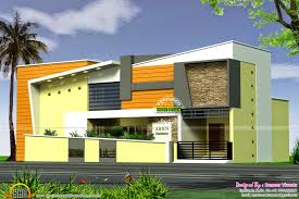 Modern Elevation Modern Elevation 2630 Sq Ft Kerala Home Design And Floor Plans