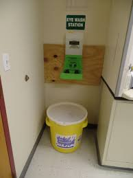 lot spill kit u0026 eye wash station