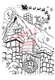 night christmas coloring pages coloring