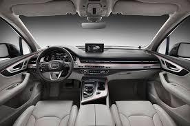 audi q7 interior parts 2016 audi q7 look motor trend