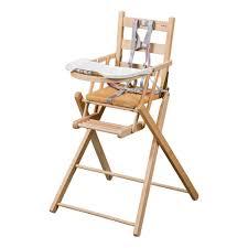 chaise haute chaise haute pliante naturel combelle design bébé