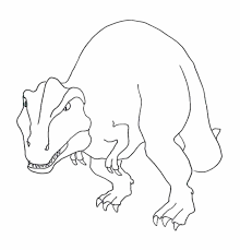 print u0026 download dinosaur rex coloring pages