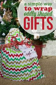 christmas wrap bags how to make santa bags for oddly shaped gifts overstuffed
