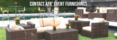outdoor furniture rental design signature party rentals santorini patio furniture rentals