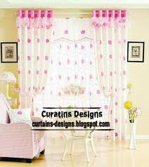 Pink Flower Curtains Modern Ring Blackout Curtain Design Pink Floral Curtain