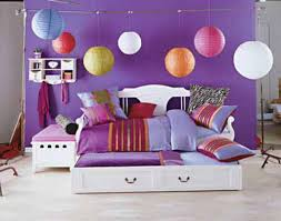 kids bedroom teen bedroom design featuring colorful lampion
