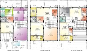 Villa Floor Plan by Golflinks Villas Floor Plan Landcraft Developers
