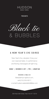 new years tie black tie bubbles a new year s soirée at library bar