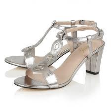lotus heeled sandals noa silver metallic women u0027s shoes lotus
