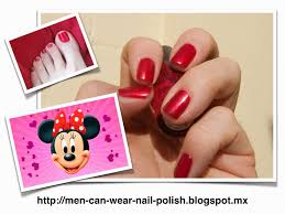 men can wear nail polish opi
