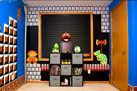 bedroom handsome kids video game room ideas all one cool decor