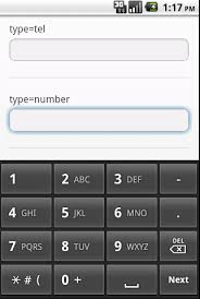 email keyboard layout iphone html5 input type keyboards on iphone android devices
