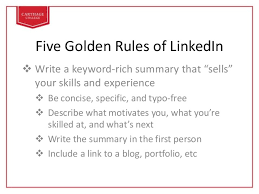 skills and experience keyword linkedin how to create an effective profile