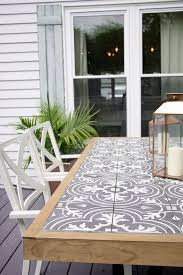 tile table top makeover amazing glass table makeover home and garden