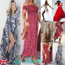 maxi dresses uk shirred maxi dress ebay