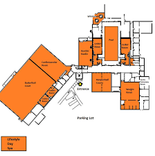 Fitness Center Floor Plans Fitness Center Building Map