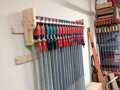 Wood Clamp Storage Rack Plans by 119 Best Clamps Storage Images On Pinterest Workshop Ideas