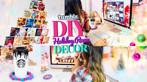 diy tumblr holiday room decor get inspired for christmas youtube