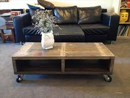 Coffee Table From Pallet Modern Coffee Tables Made From Wooden Pallet Pallet Wood Projects