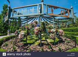 gardens at thanksgiving point complex lehi utah usa stock photo
