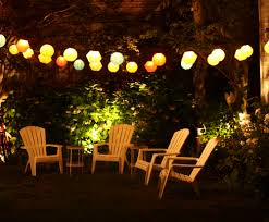 String Lighting For Patio Patio Lights String Enhances Atmosphere Cement Patio