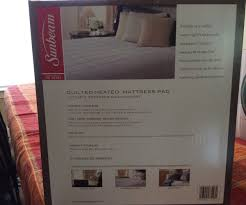 peculiar image heated mattress pad queen dual control heated