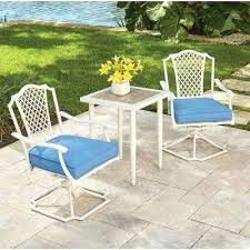 metal outdoor table and chairs white bistro set outdoor 3 piece metal outdoor bistro set with