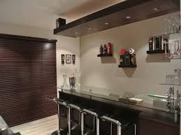 furniture stunning cool bar ideas with l shape wooden table