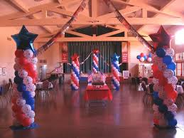 patriotic decorations patriotic decorations balloon decor of central california