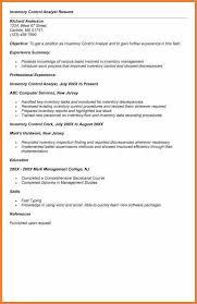 Material Analyst Resume Inventory Control Analyst Resume Business Analyst Resume Format