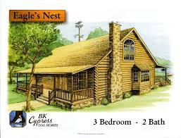 Blueprints For Cabins Floor Plans Bk Cypress Log Homes