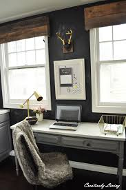 desk makeover for katie u0027s office nook by creatively living blog