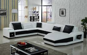 furniture black and white sectional using black and white