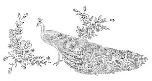 laura wheeler design 777 u2014 peacock panel u2013 q is for quilter
