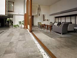 dallage exterieur en pierre naturelle carrelage sol ou mur aspect pierre naturelle en grès cérame