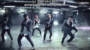 exo growl lyrics exo growl korean ver mv english subs romanization hangul