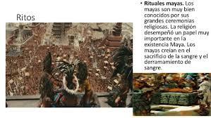imagenes de rituales mayas cultura maya