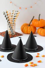diy witch u0027s hat halloween party favor julep