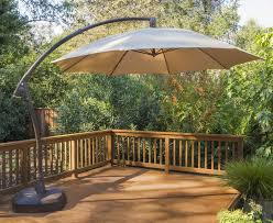 11 Foot Patio Umbrella Outdoor 11 Cantilever Patio Umbrella With Base Offset Cantilever