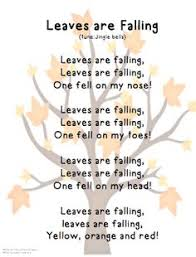song leaves are falling tune jingle bells fall leaves