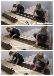 pergo laminate flooring installation sawdust