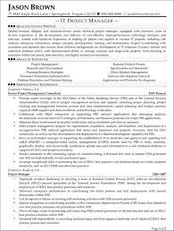 information technology resume 7 it project manager resume example