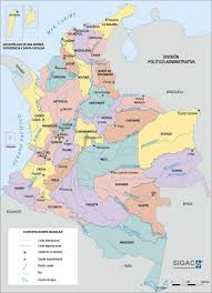 Large Map Of The World Large Detailed Administrative Map Of Colombia Colombia Large