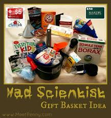 raffle basket themes diy mad scientist gift basket idea for kids meet