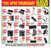 office depot and officemax black friday 2015 ad scan