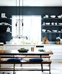 cuisine bleu petrole couleur bleu petrole peinture cuisine cuisine mur bleu petrole
