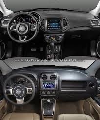 jeep compass trailhawk 2017 black 2017 jeep compass vs 2011 jeep compass in images